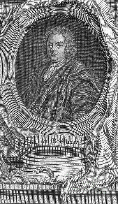 Herman Boerhaave, Dutch Physician Print by Science Source