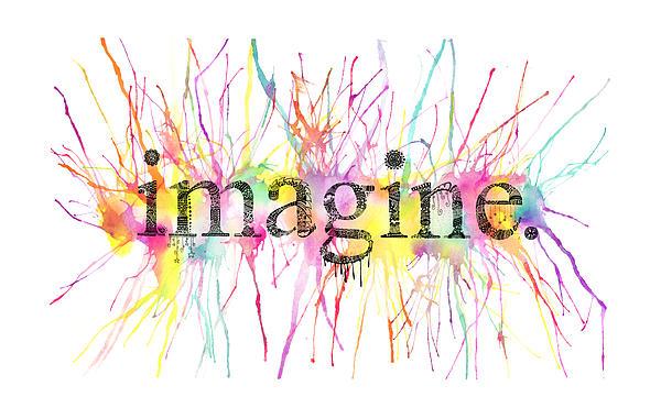 Imagine. Print by Kalie Hoodhood