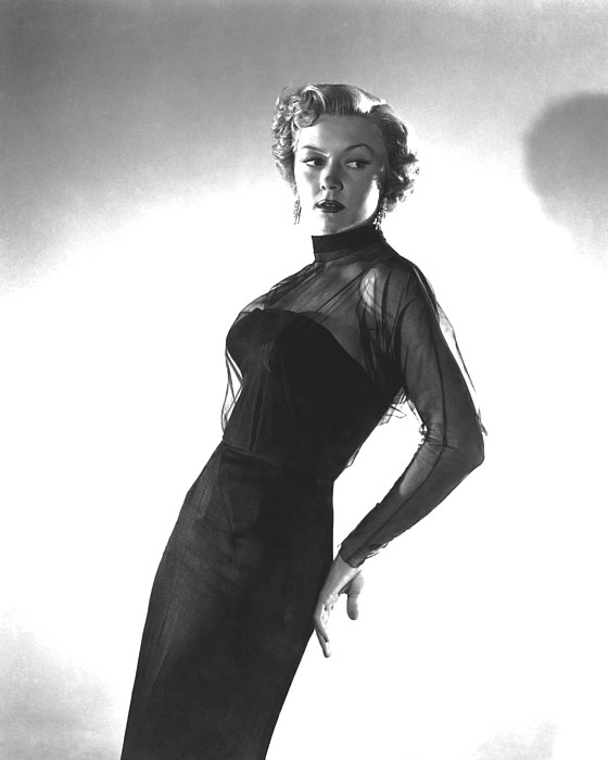 In A Lonely Place, Gloria Grahame Print by Everett