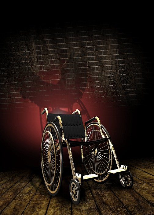 Isolation Through Disability, Artwork Print by Victor Habbick Visions