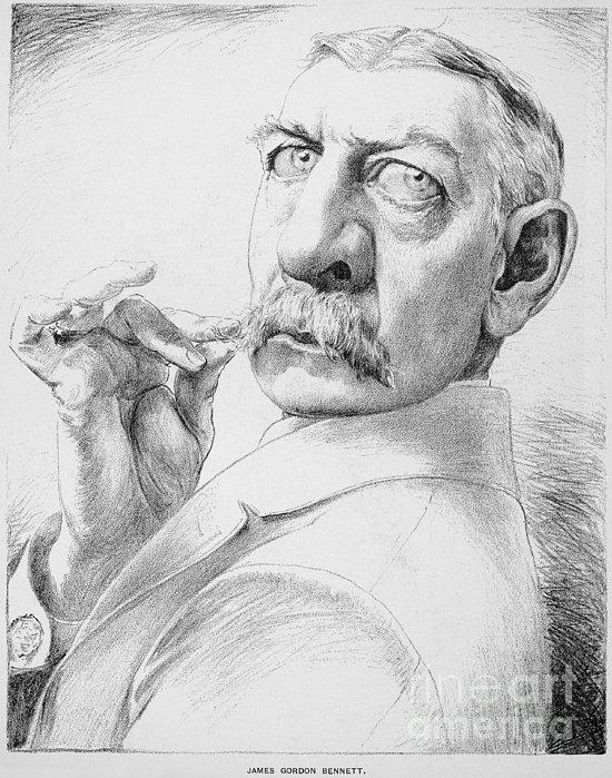 James Gordon Bennett, Jr Print by Granger