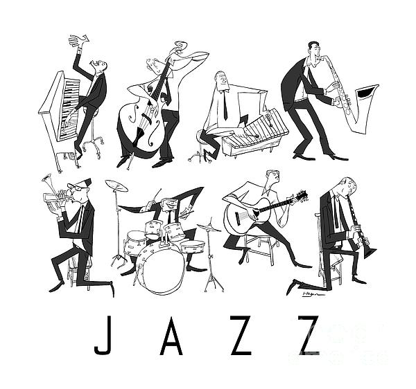 Jazz Print by Sean Hagan