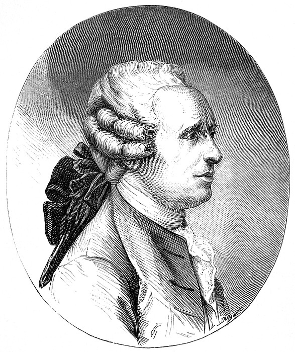 Jean D'alembert, French Mathematician Print by