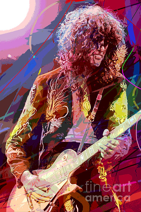 David Lloyd Glover - Jimmy Page Les Paul Gibson
