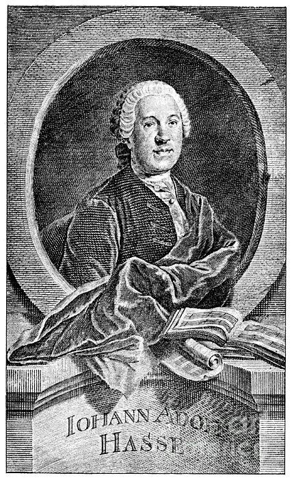 Johann Adolf Hasse Print by Granger