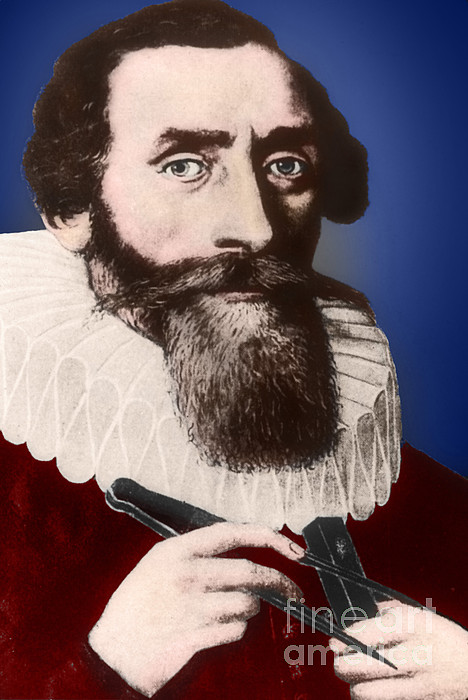 Johannes Kepler, German Astronomer Print by Science Source