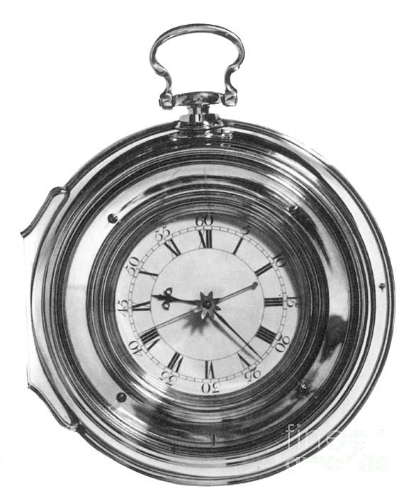 John Harrisons Last Marine Timepiece Print by Science Source