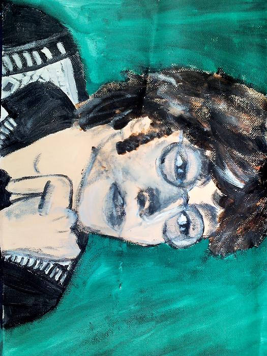 John Lennon Print by Julie Butterworth