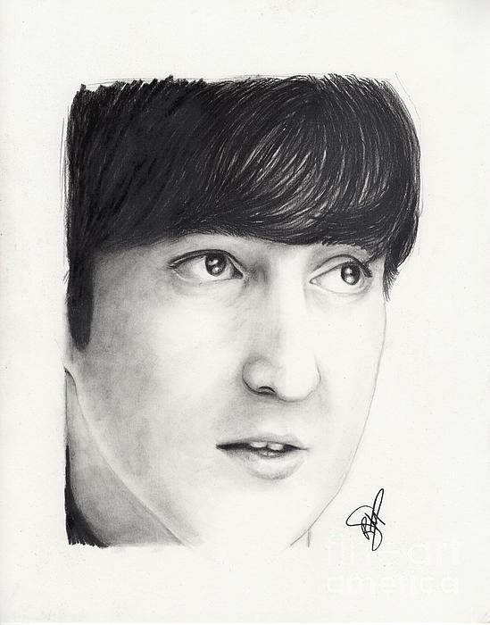 John Lennon Print by Rosalinda Markle