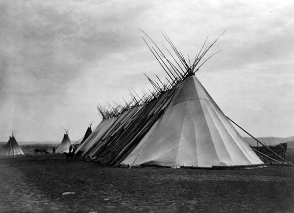 Joseph Dead Feast Lodge- Nez Perc� Print by Everett