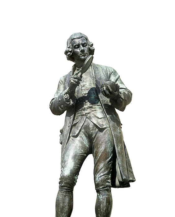 Joseph Priestley, British Chemist Print by Martin Bond
