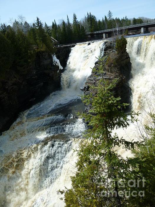 Sue Wild Rose - Kakabeka Falls