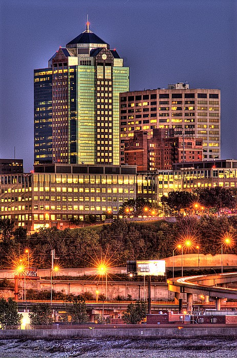 Kansas City Missouri Skyline Photograph  - Kansas City Missouri Skyline Fine Art Print