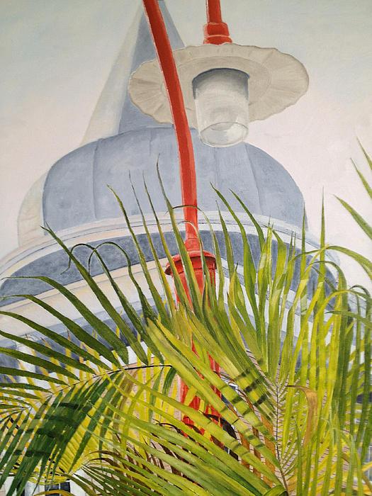 Key West Turret Print by John Schuller