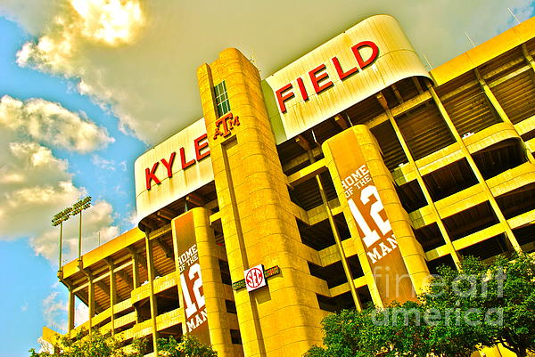 Kyle Field Aggieland Print by Chuck Taylor