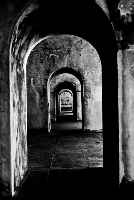 Labyrinth Print by Grebo Gray