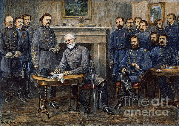 Lees Surrender, 1865 Print by Granger