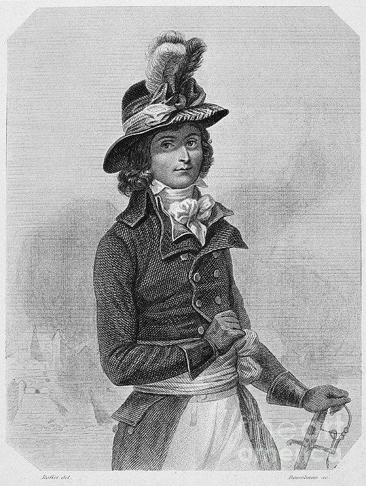 Louis Saint-just (1767-1794) Print by Granger