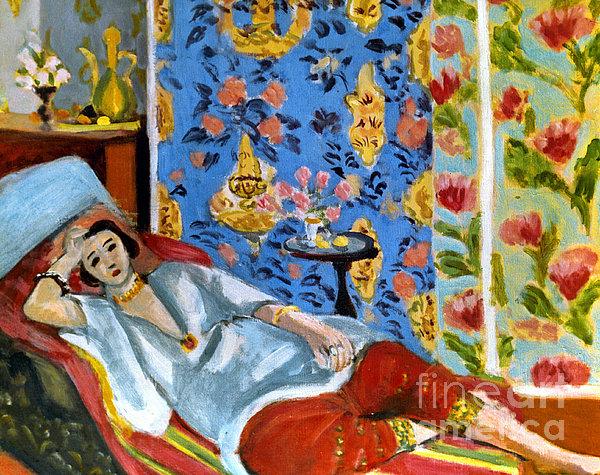 Matisse Odalisque 1922 Print by Granger