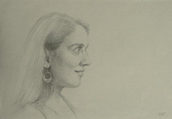 Maura Print by Aurelia Burnham