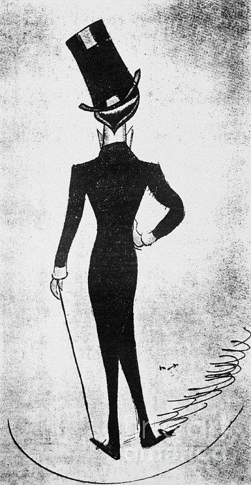 Max Beerbohm (1872-1956) Print by Granger