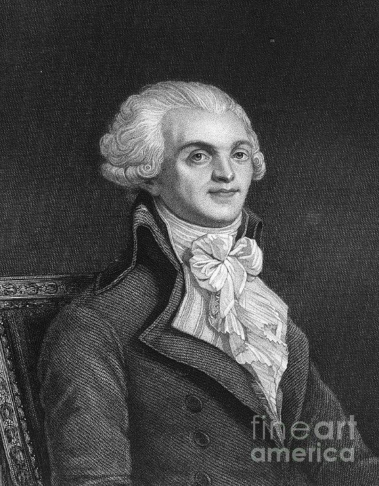 Maximilien Robespierre Print by Granger