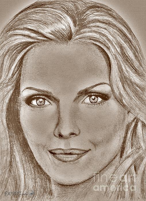 Michelle Pfeiffer In 2010 Print by J McCombie