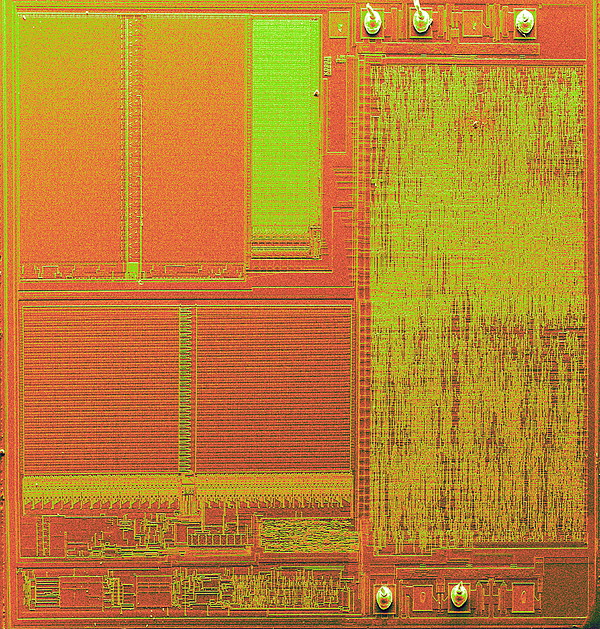 Microchip, Sem Print by Power And Syred