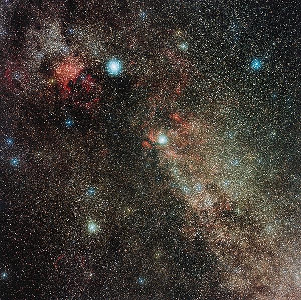 Milky Way In Cygnus Print by Eckhard Slawik