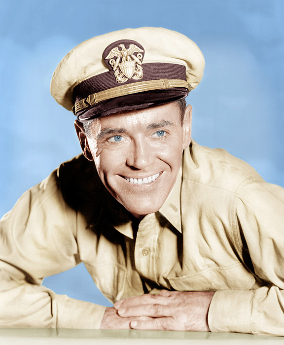 Mister Roberts, Henry Fonda, 1955 Print by Everett