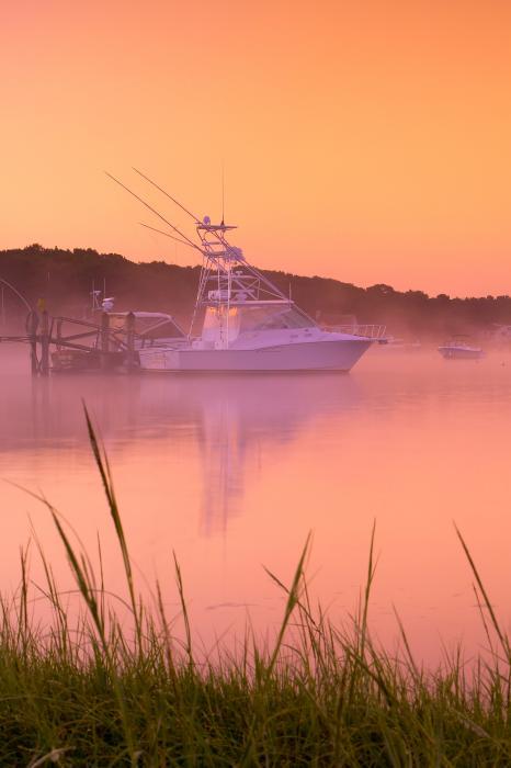 Misty Morning Osterville Cape Cod Print by Matt Suess
