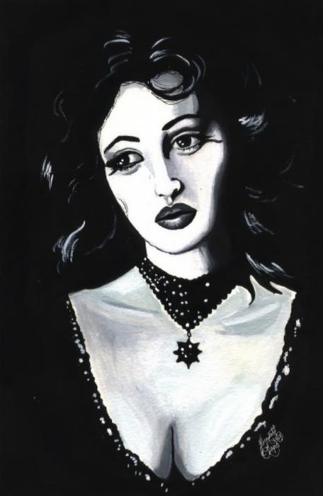 Monica Print by Scarlett Royal