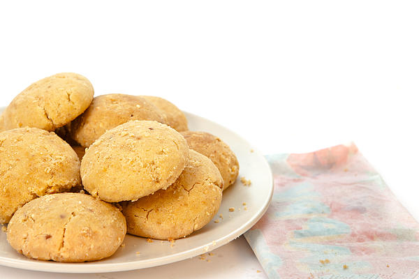 Moroccan Biscuits Print by Tom Gowanlock