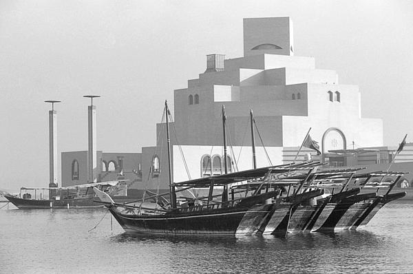 Museum Of Islamic Art In Doha Print by Paul Cowan