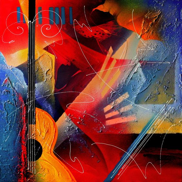 Musical Textures Series Print by Andrea Tharin