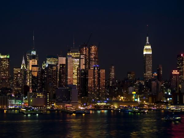 new york skyline view - photo #6