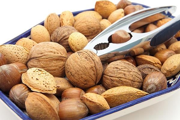 Nuts Print by Tom Gowanlock