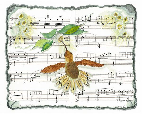 Joy Braverman - 1 of 2 - Natures Symphony-The Conductor