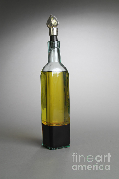 Oil And Vinegar Print by Photo Researchers