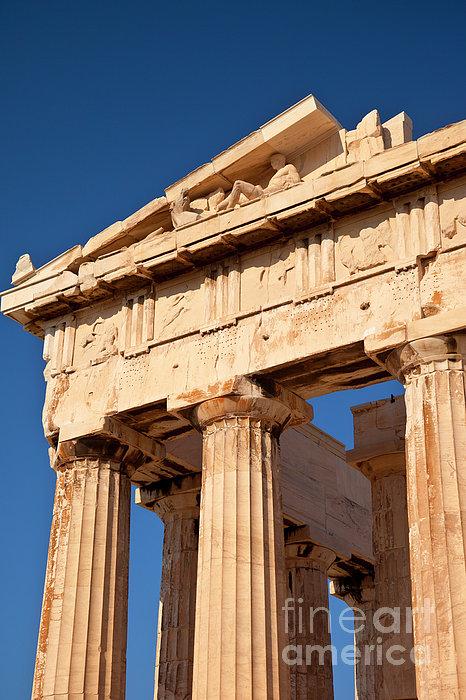 Parthenon Print by Brian Jannsen