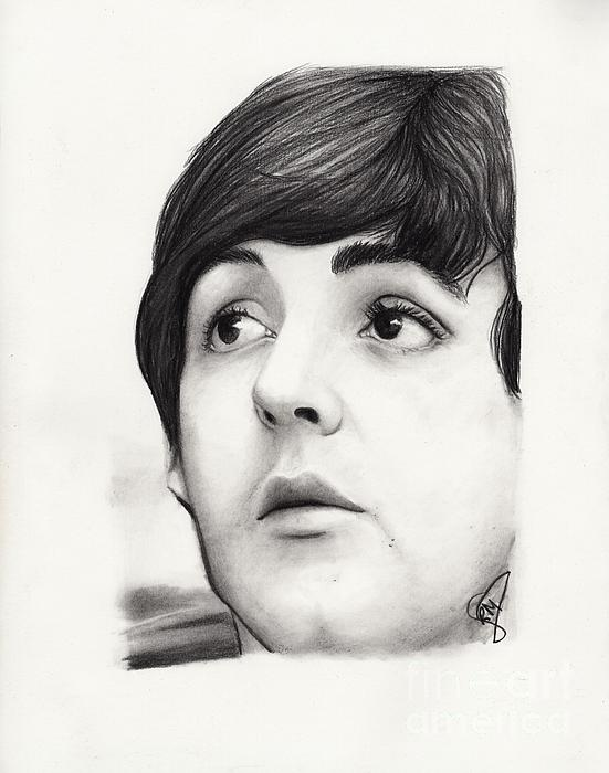 Paul Mccartney Print by Rosalinda Markle