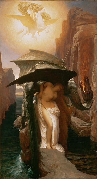 Perseus And Andromeda Print by Frederic Leighton