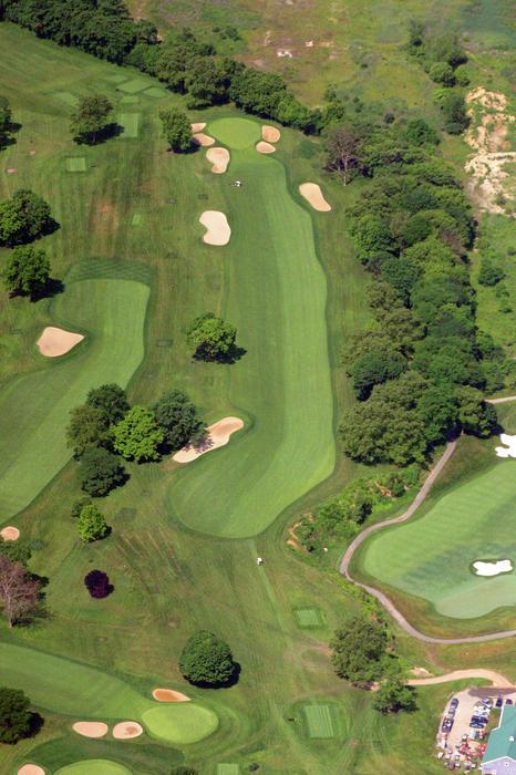 Philadelphia Cricket Club Wissahickon Golf Course 12th Hole Print by Duncan Pearson
