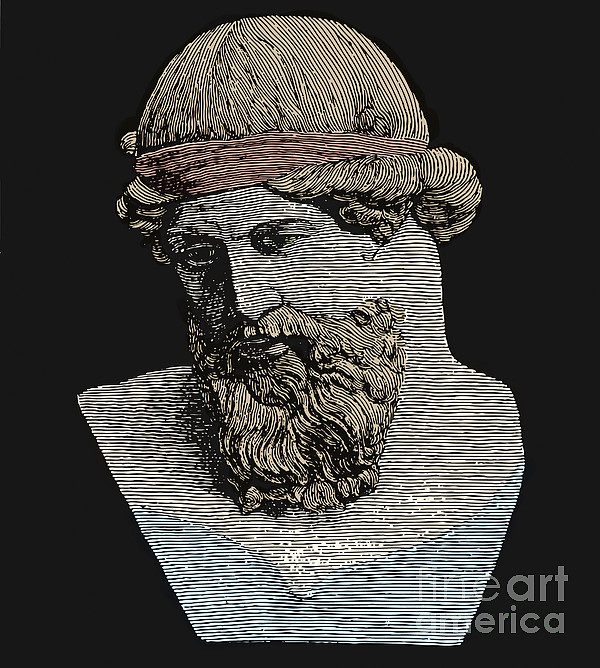 Plato, Ancient Greek Philosopher Print by Science Source