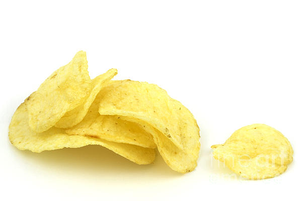 Potato Chips Print by Blink Images
