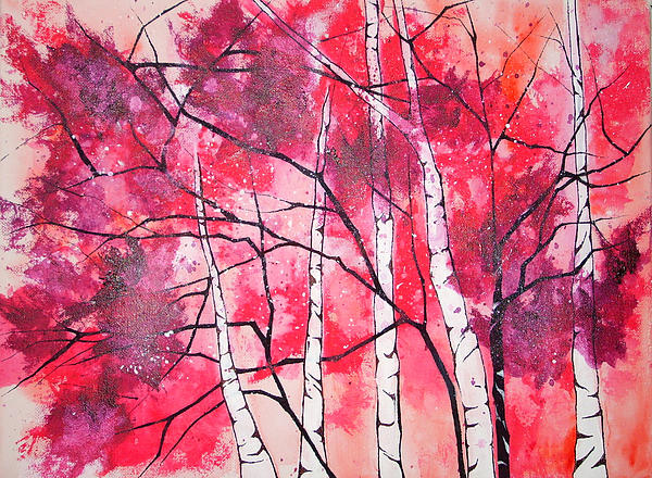 Pretty In Pink Painting  - Pretty In Pink Fine Art Print