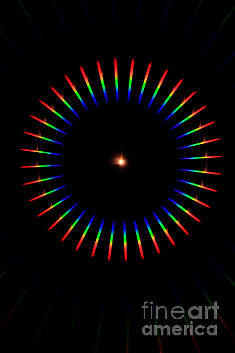 Quicklime Spectra Limelight Print by Ted Kinsman
