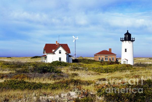 Race Point Lighthouse Print by John Greim