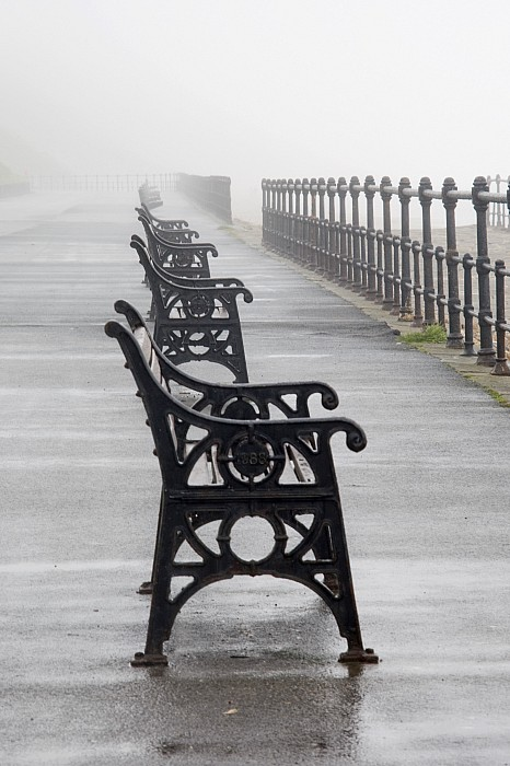 Redcar, North Yorkshire, England Row Of Print by John Short