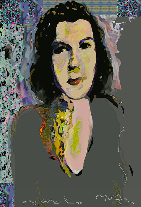 Regina Mixed Media  - Regina Fine Art Print